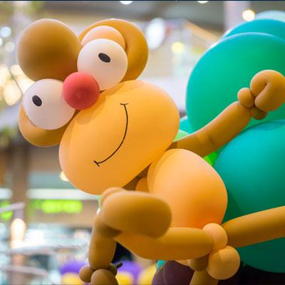 Animation ballons pour les enfants