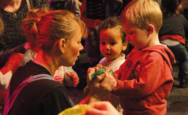 Partage et proximité avec les enfants